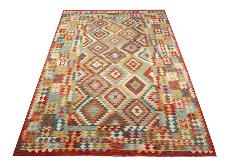 Traditional Rugs Design Afghan Kilim Rugs For Sale At 1stdibs