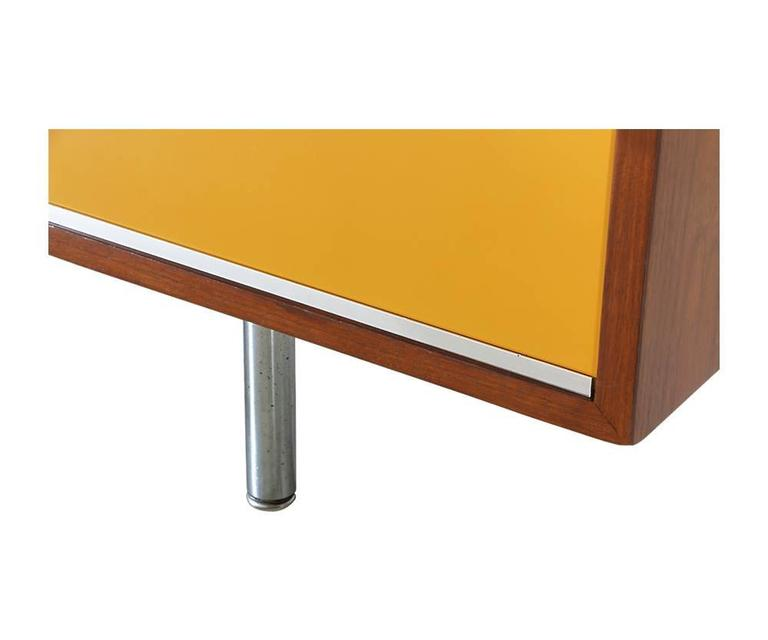 George Nelson Two Toned Lacquered Credenza For Herman