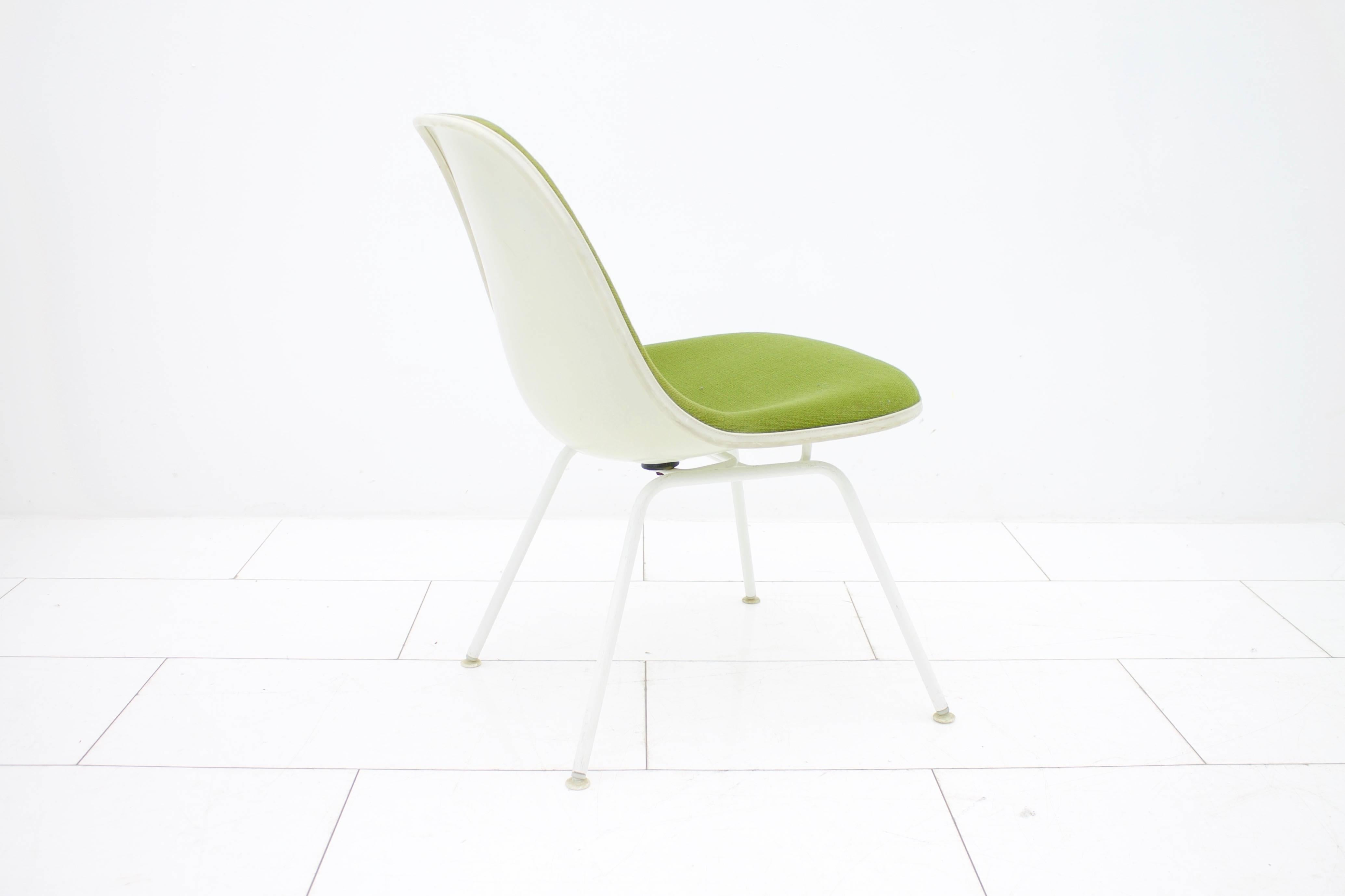 Charles And Ray Eames Side Chairs With H Low Base For Sale