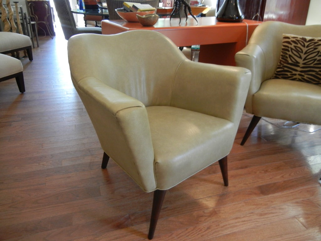 60s Furniture Styles Pair Of Harry Bertoia Style 60s Armchairs At 1stdibs