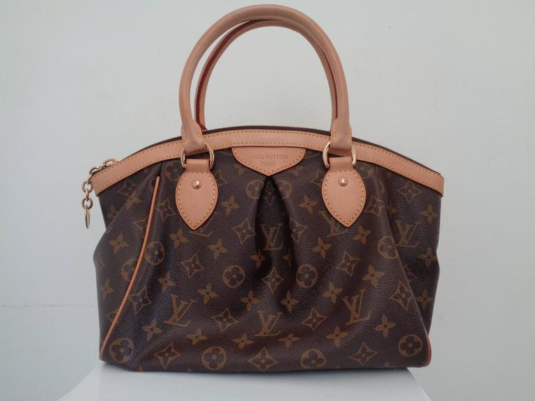 Louis Vuitton Tivoli Pm Dimensions 2008 Louis Vuitton Tivoli Pm Monogram Handbag At 1stdibs