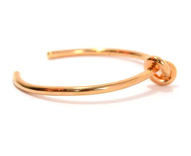 Rose Gold Knot Bracelet Bracelet Photos Onneyuonsencom
