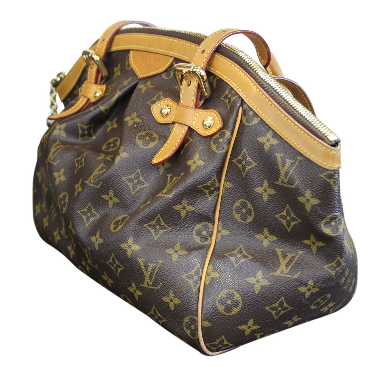 Tivoli Gm Louis Vuitton Tivoli Gm Monogram Canvas Shoulder Bag In Box