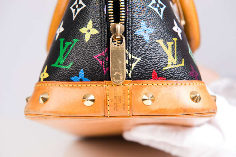 Louis Vuitton Tivoli Pm Dimensions Louis Vuitton Alma Monogram Multicolore At 1stdibs