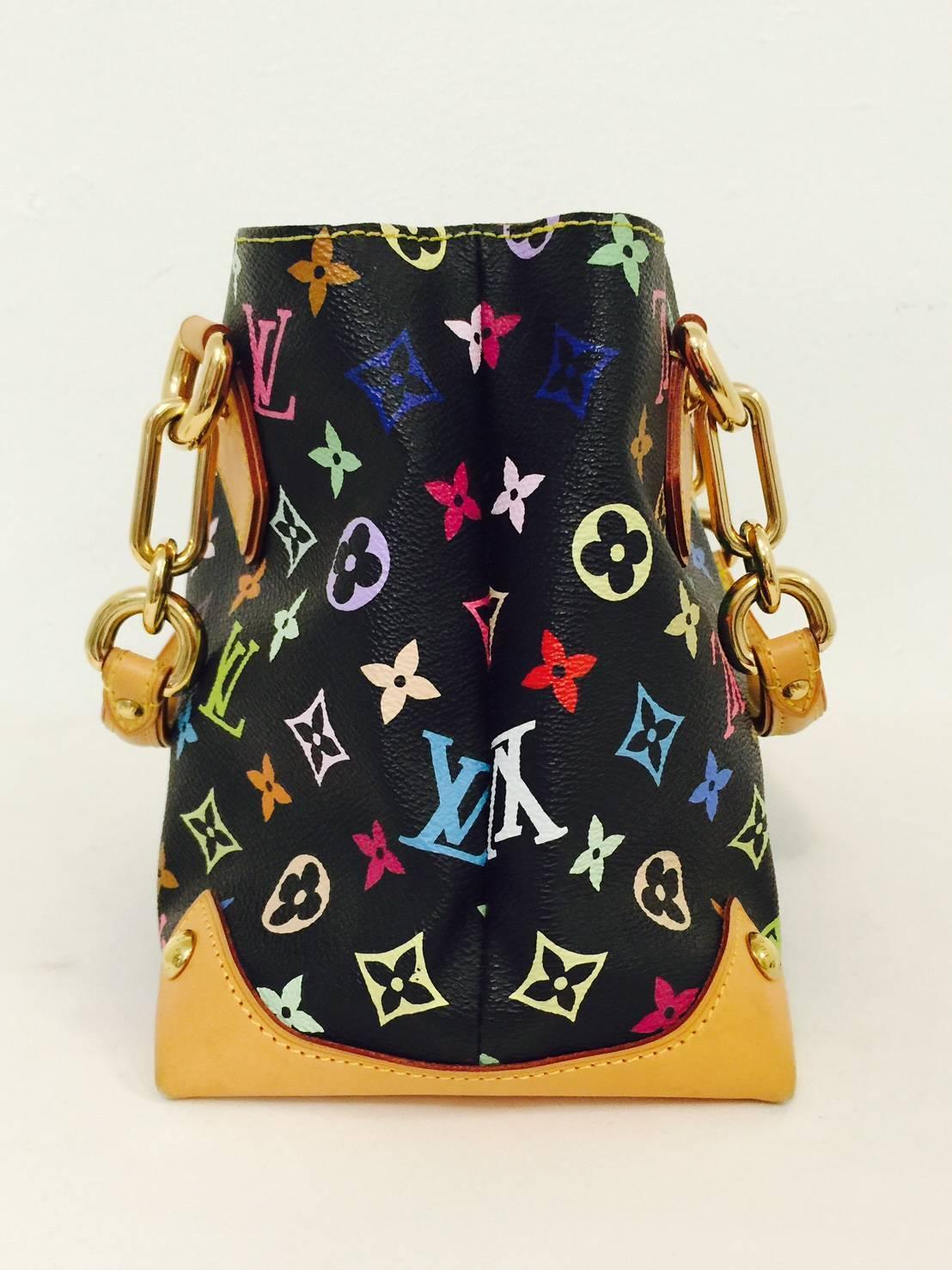 louis vuitton audra satchel with 7 bonus charms