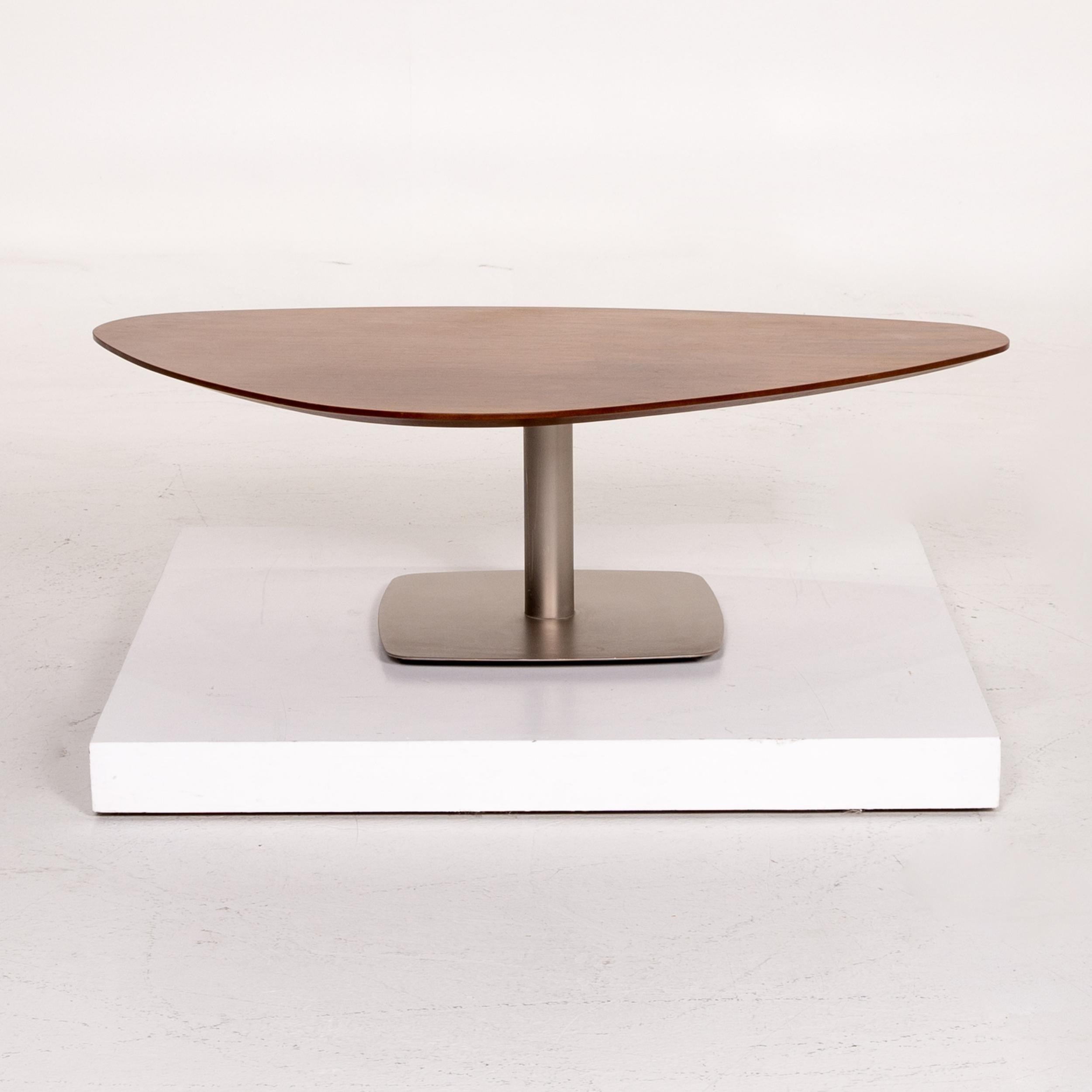 Boconcept Wooden Coffee Table Brown Asymmetrical For Sale At 1stdibs