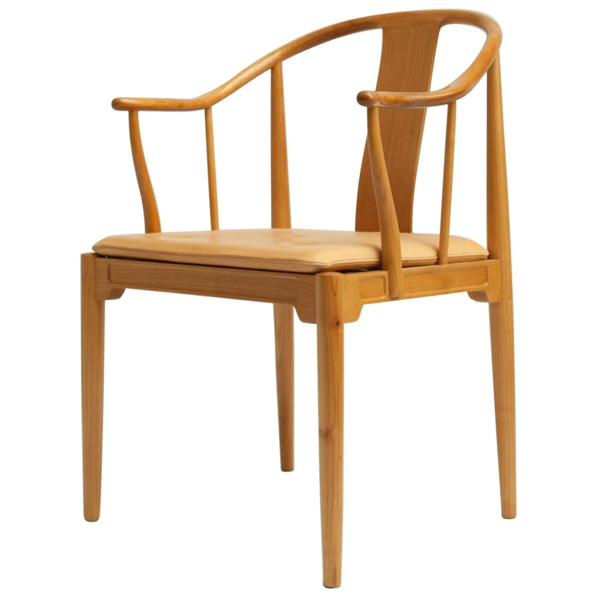Famous Chair Cherrywood China Chair By Hans J Wegner