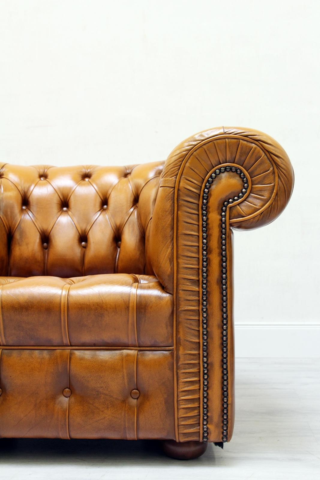 Retro Sessel Sale Chesterfield Ledersessel Antik Vintage Englisch Sessel