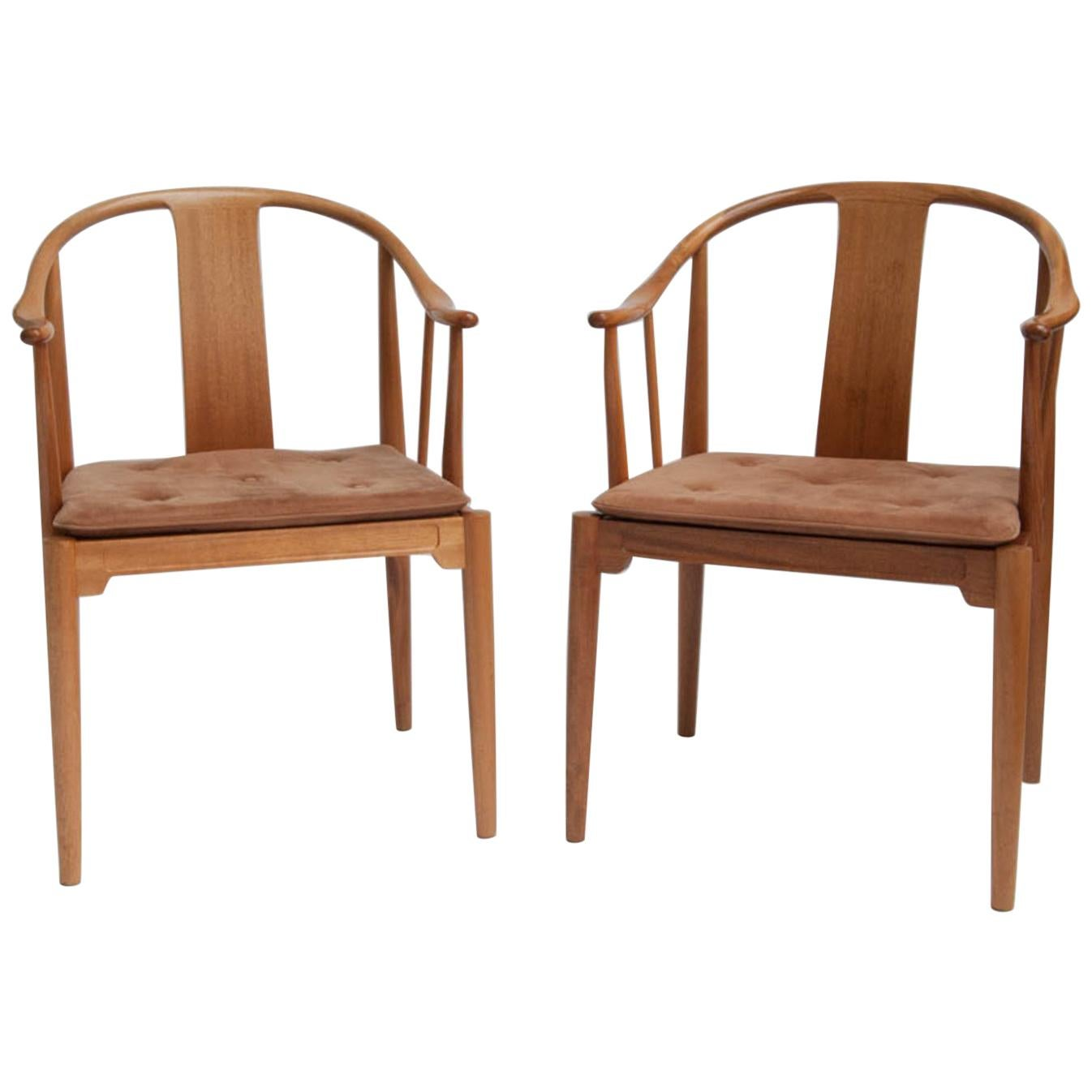 Famous Chair China Chair By Hans J Wegner Set Of Two