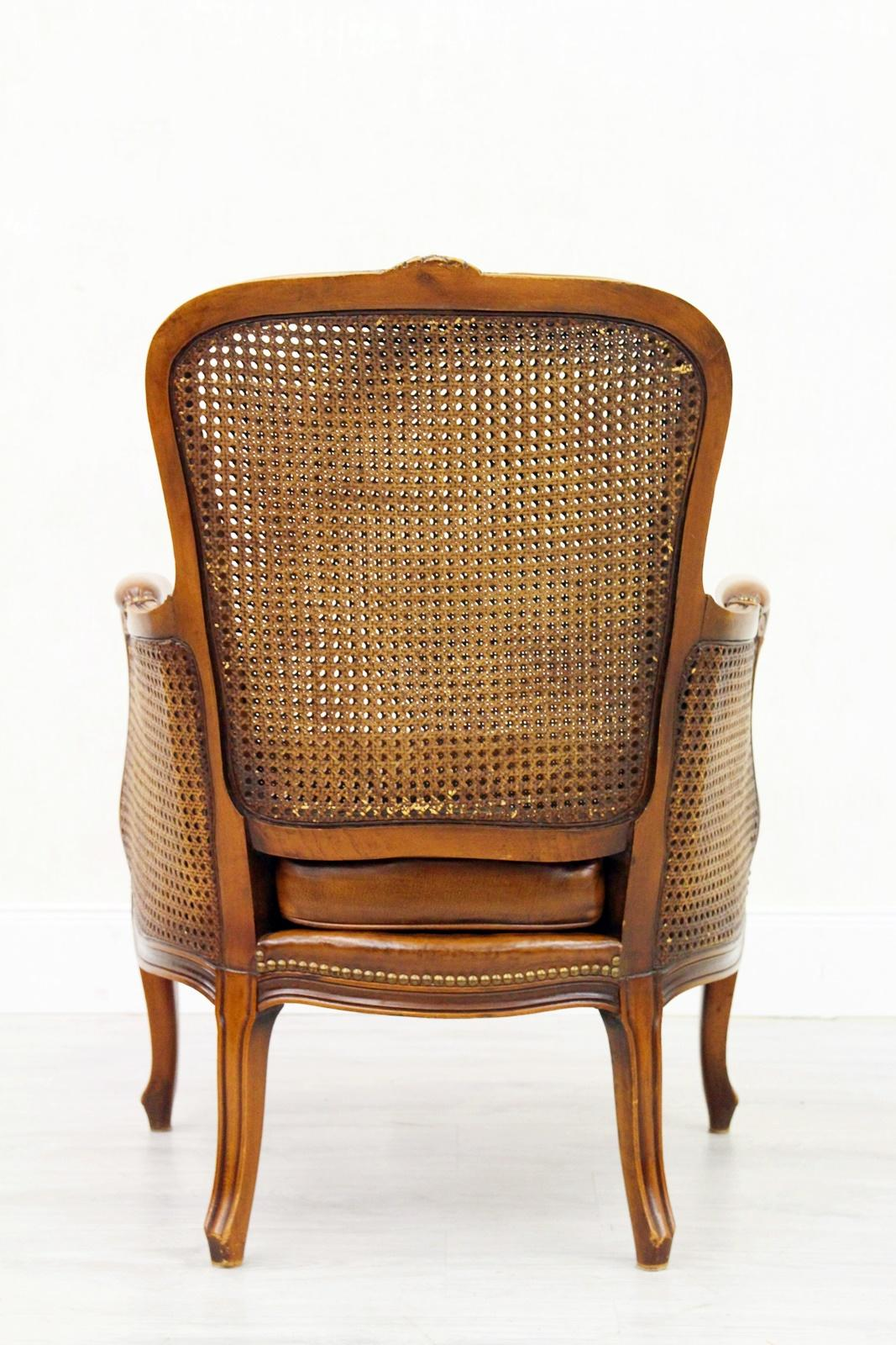 Sessel Chesterfield Chippendale Sessel Chesterfield Sessel Barock Antik Leder Rattan