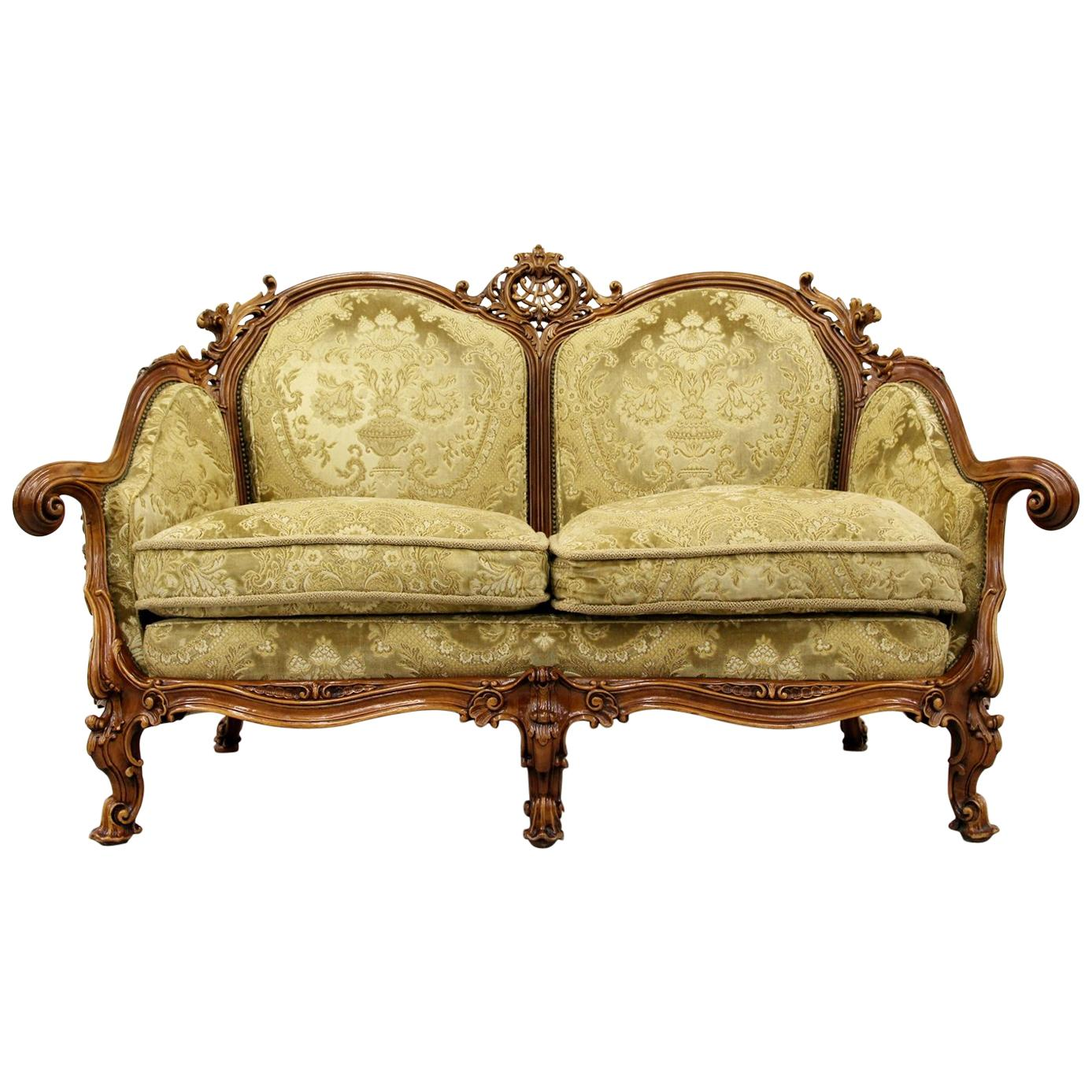 Sofa L Form Mit Sessel Chippendale Chesterfield Sofa Couch Sessel Barock Antik Barock