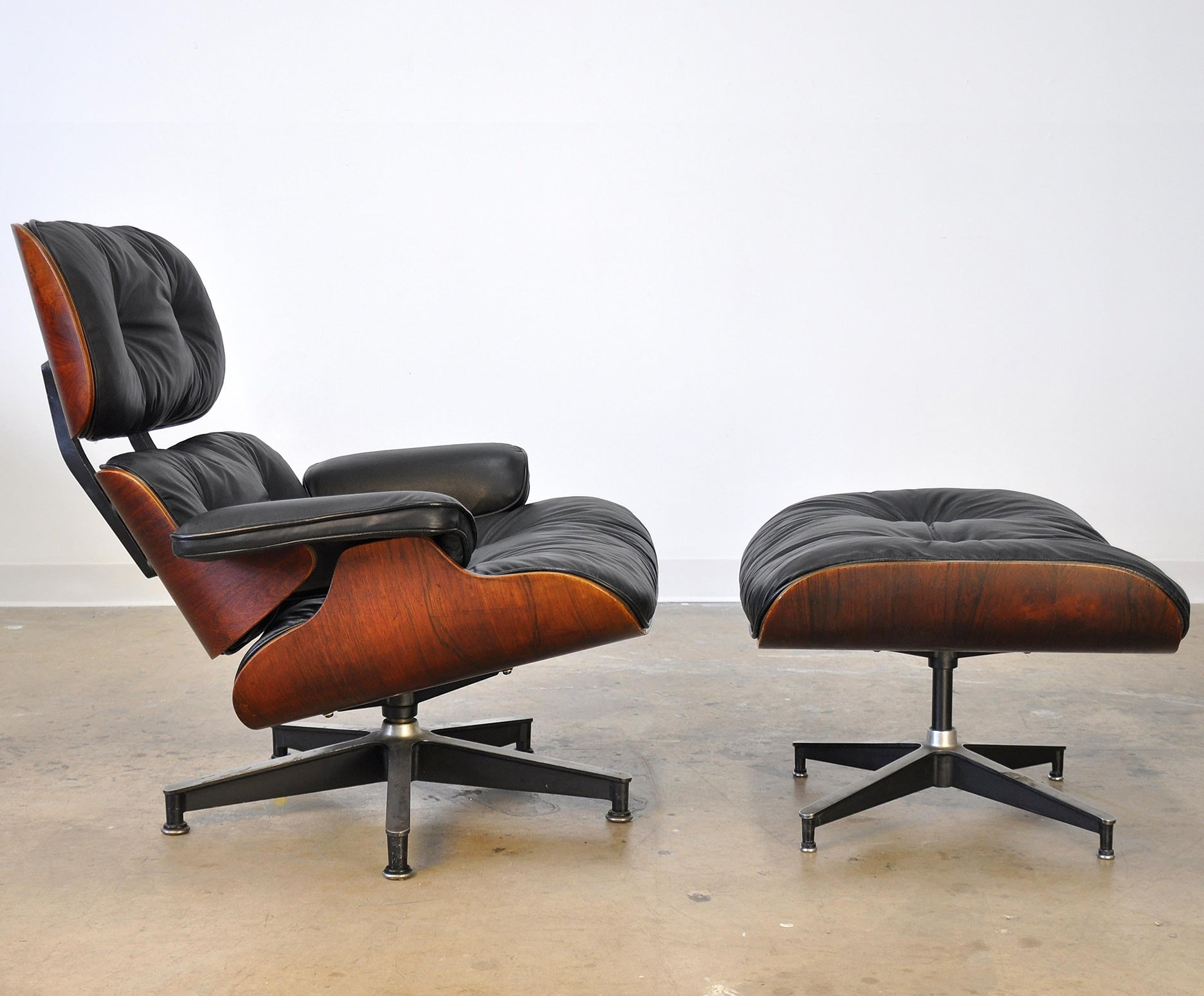 Chair Eames Charles And Ray Eames Eames Lounge Chair And Ottoman | 1stdibs