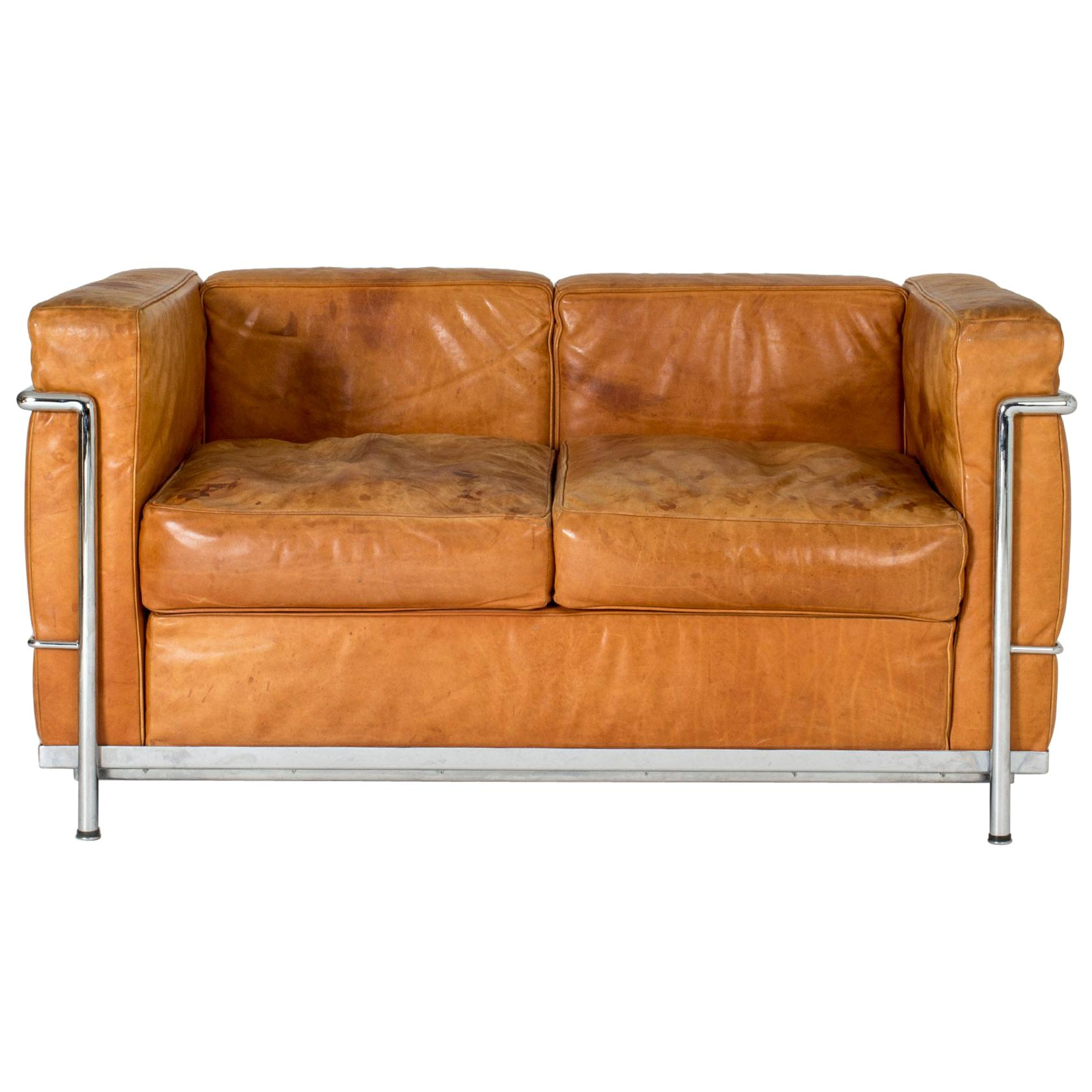 Divano Design Minimal Le Corbusier Lc3 Divano Three Posti Fauteuil Grand Confort Sofa 1928 Cassina