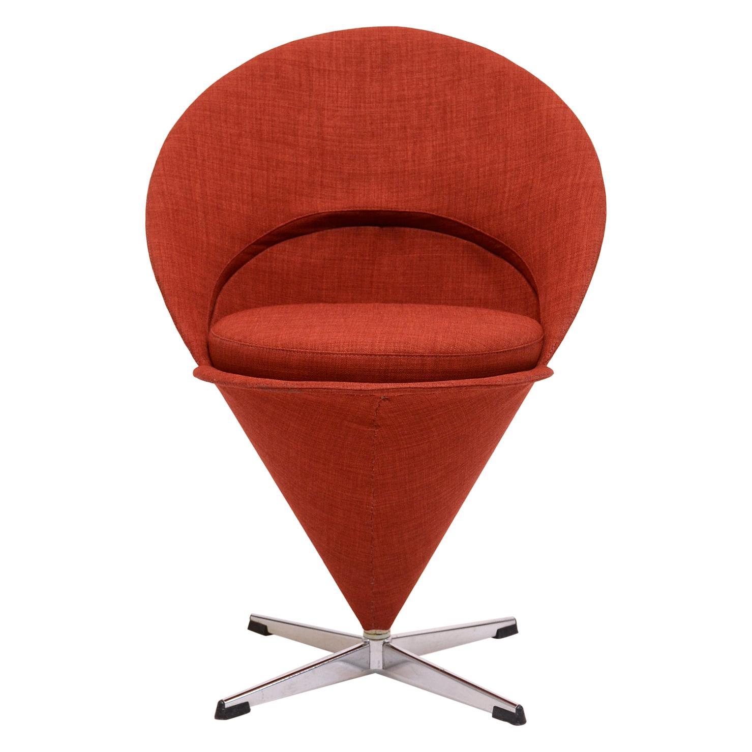 Cone Chair By Verner Panton For Sale At 1stdibs