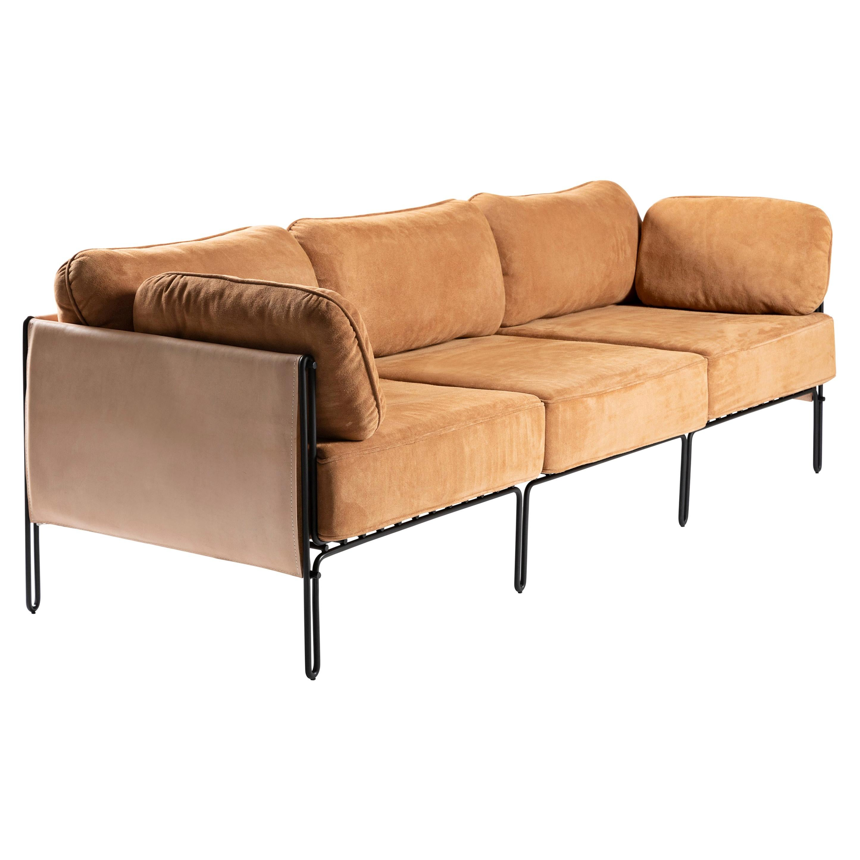 Sofa Jequitiba Nova America Brazil Furniture 2 843 For Sale At 1stdibs