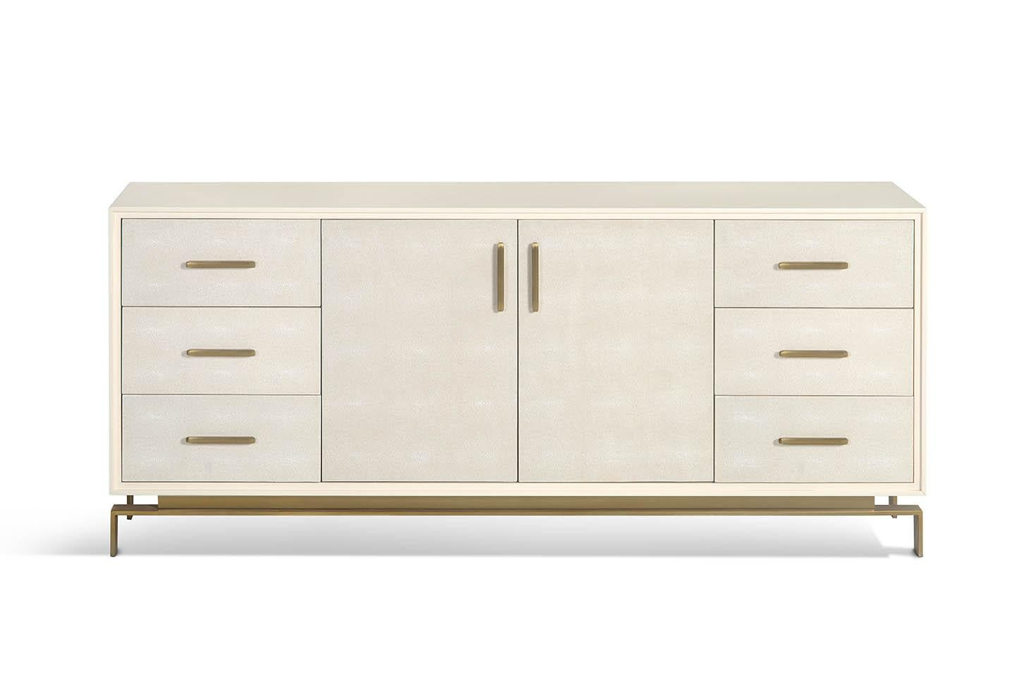 Valencia Buffet Sideboard Custom Made Shagreen Sideboard