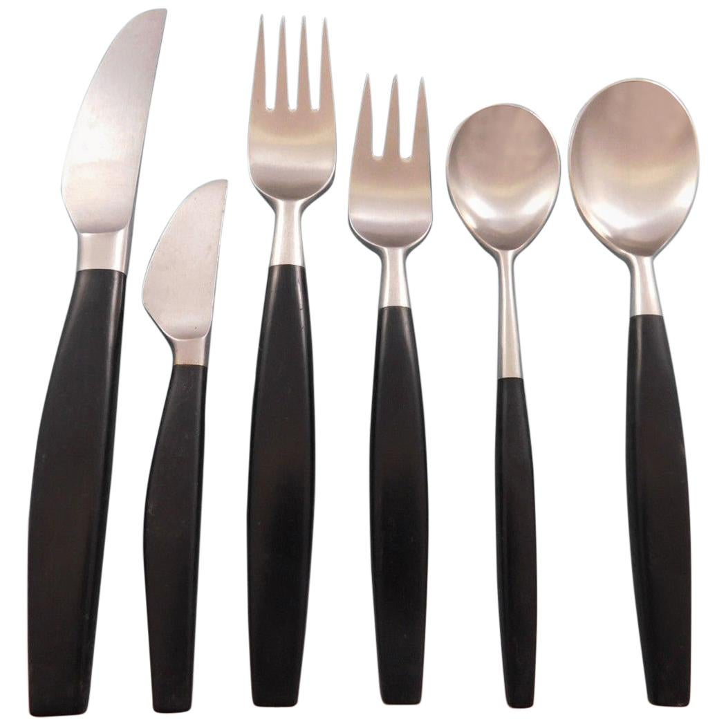 Discount Stainless Flatware Lion Black By Hackman Stainless Steel Flatware Service For 10 Set 60 Pcs Finland