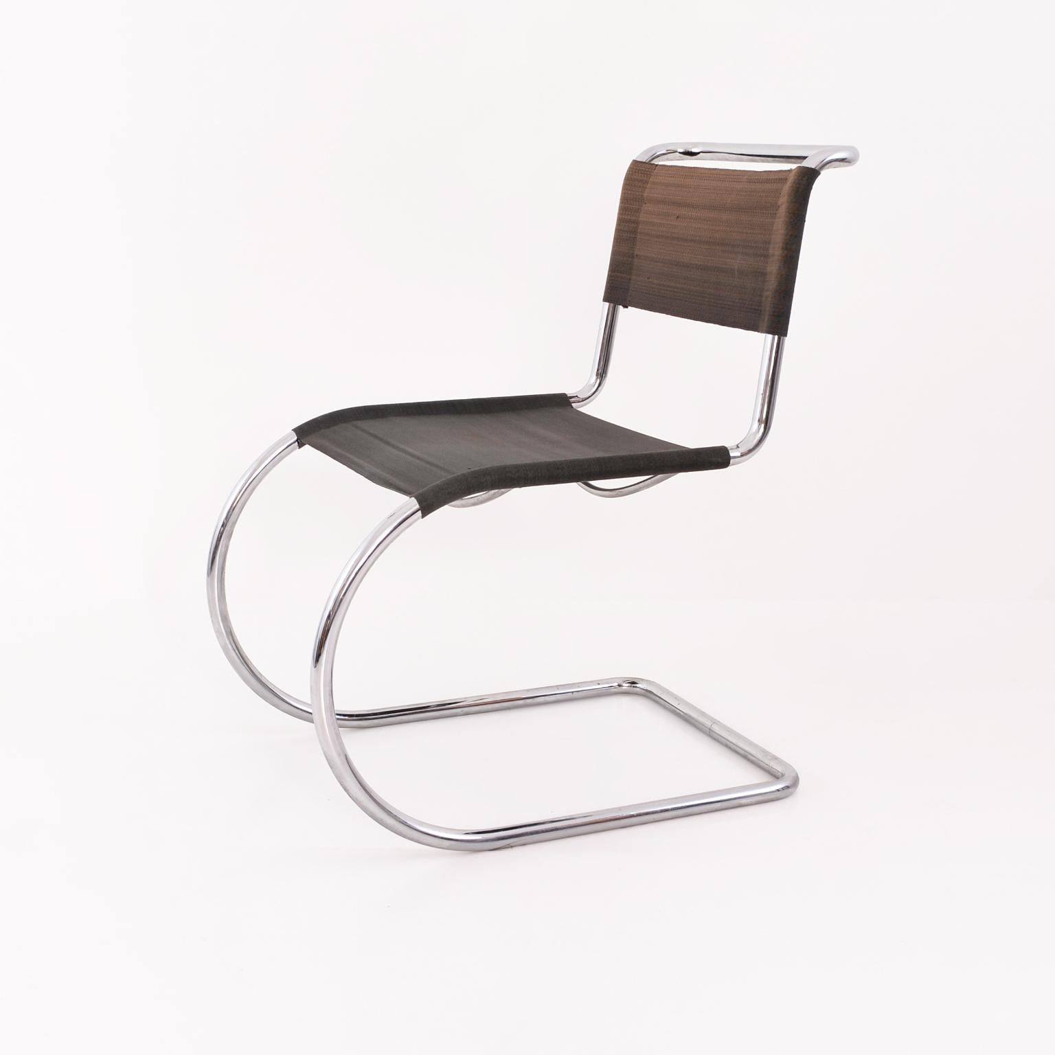 Ludwig Mies Van Der Rohe Weißenhof Mr 10 Mr 533 Chairs Manufactured By Thonet For Sale At 1stdibs