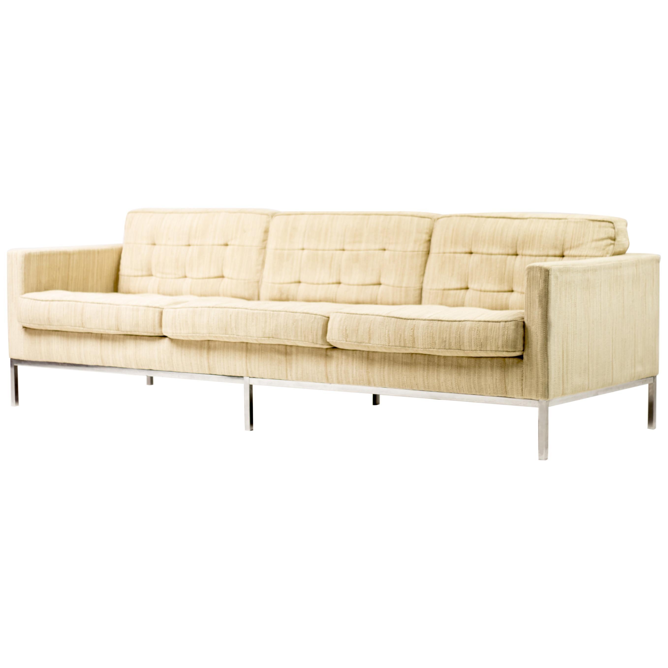 Corduroy 3 Seater Sofa Mid Century Modern Sofas 3 260 For Sale At 1stdibs