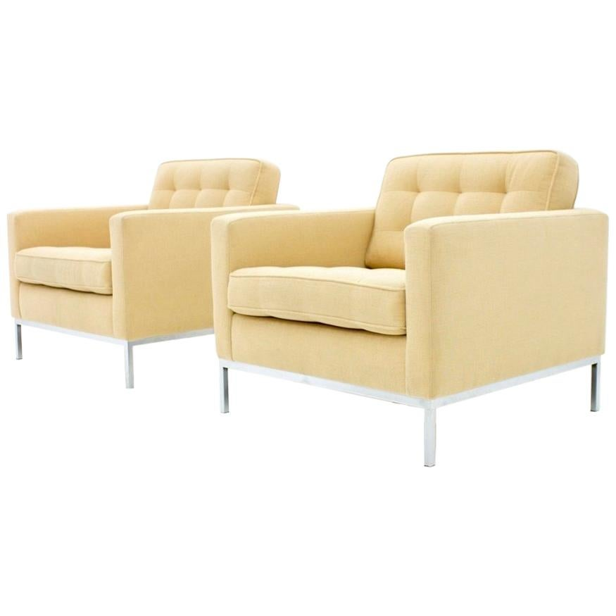 Knoll International Florence Knoll Lounge Chairs For Knoll International