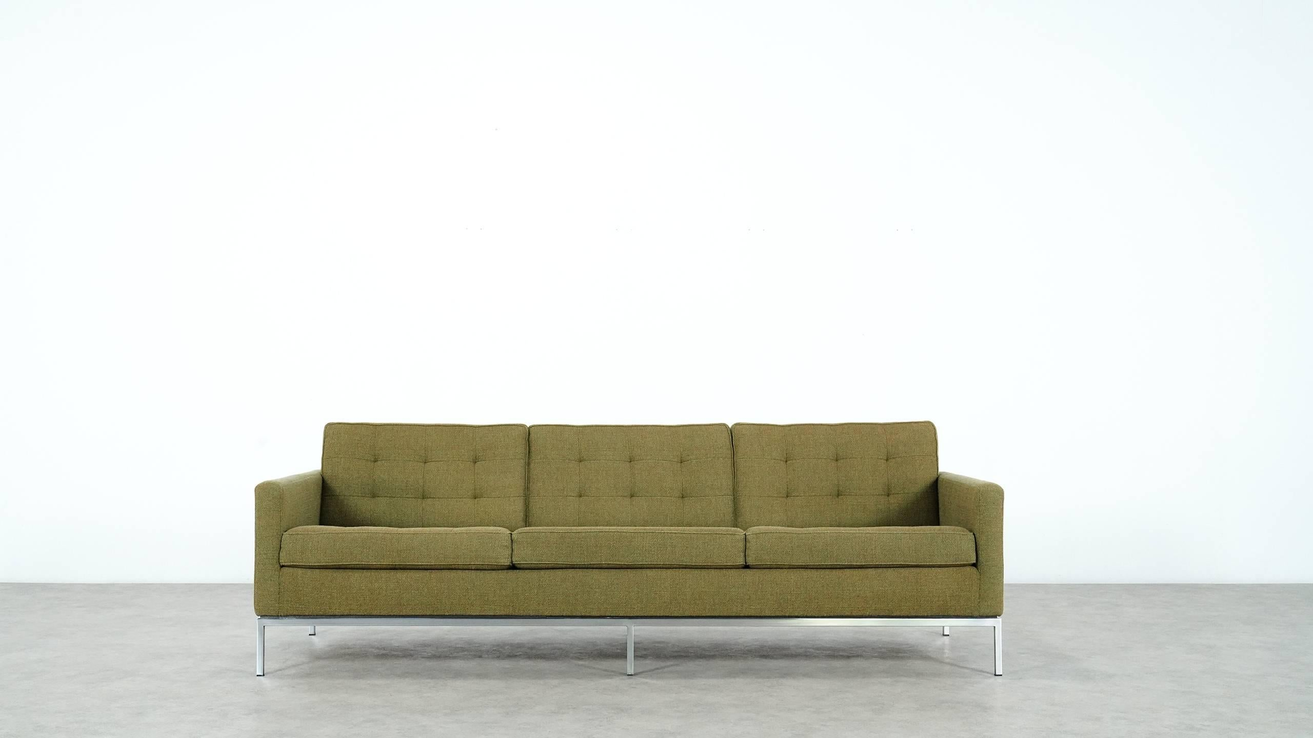 Florence Knoll Sessel Florence Knoll Sofa And Lounge Chair 1954 For Knoll International In Kvadrat