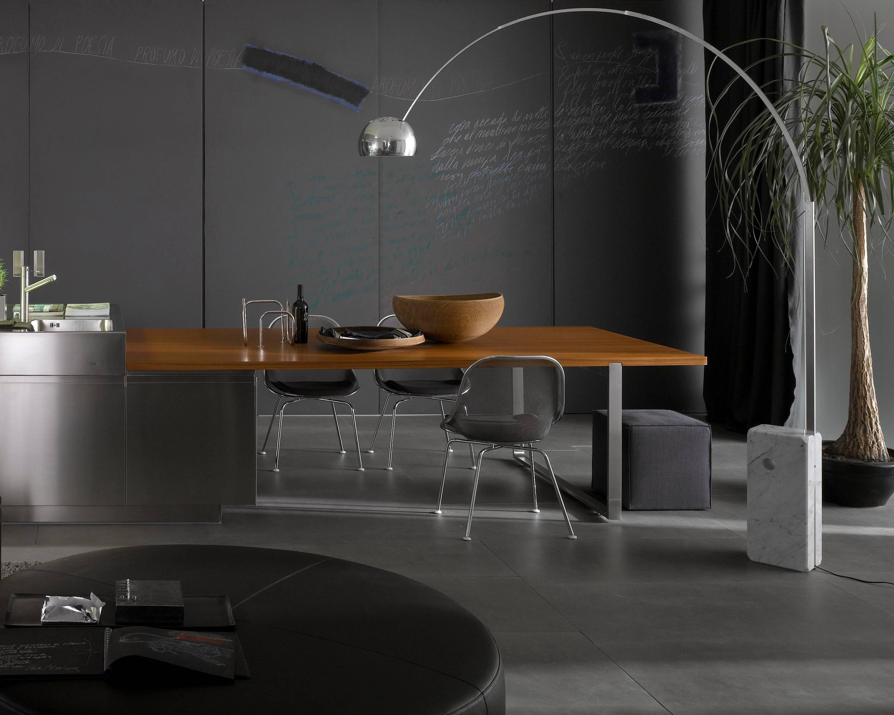 Bogenleuchte Designklassiker Flos Arco Led Floor Lamp By Achille And Pier Giacomo