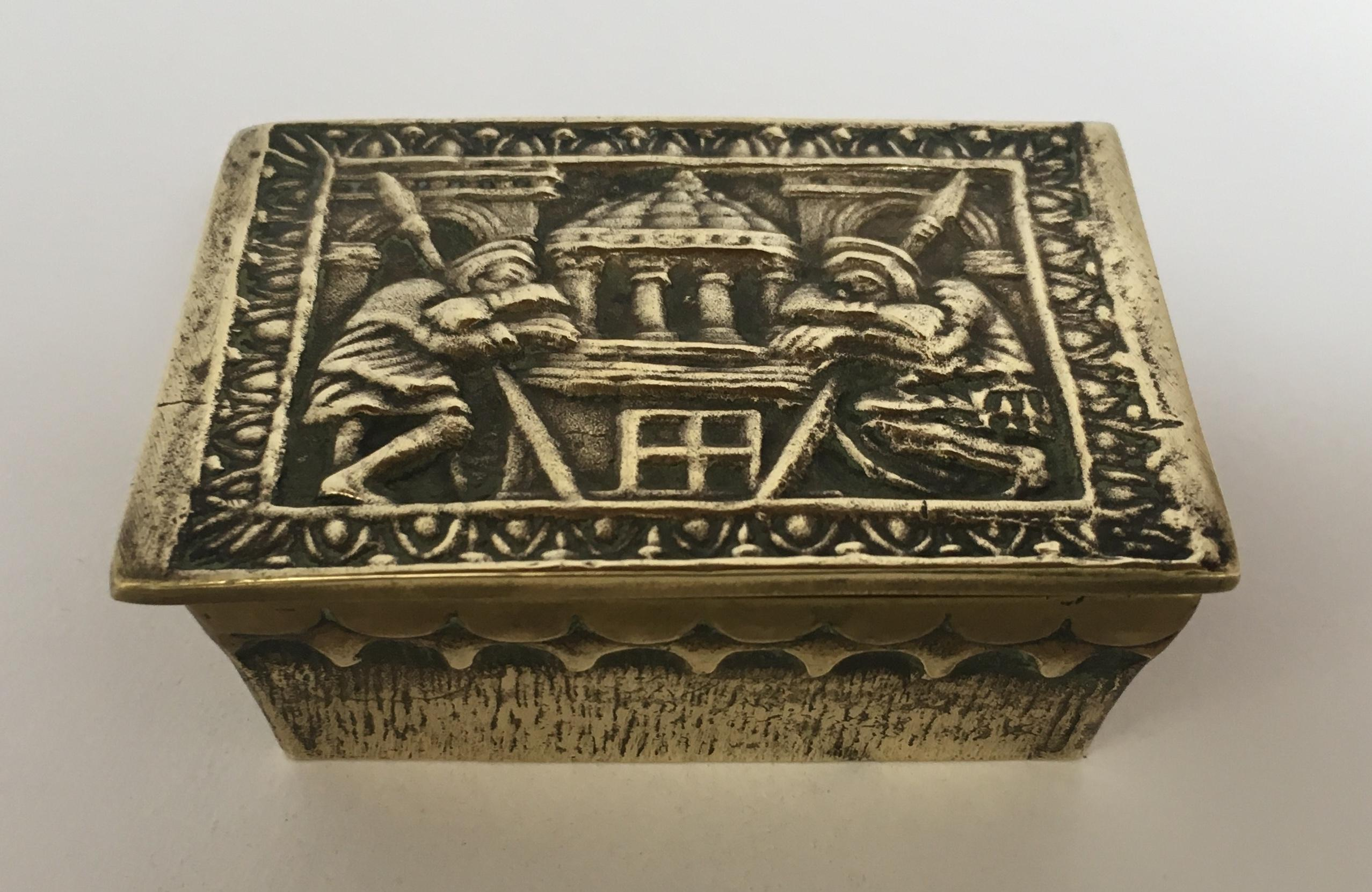 Art Deco Style Jewelry Boxes French Bronze Art Deco Jewelry Box By Max Le Verrier