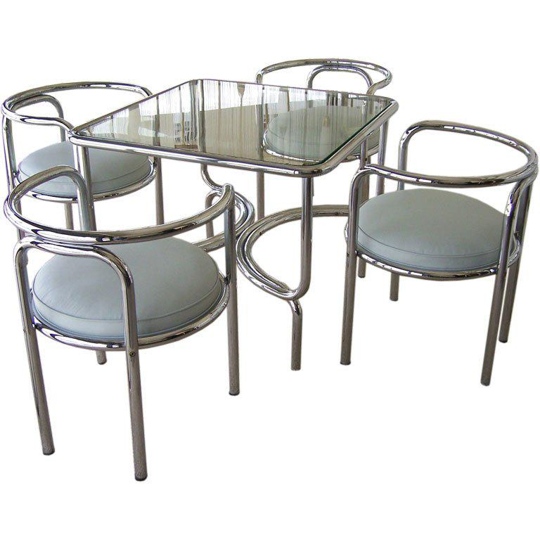 Small Dining Table Gae Aulenti Locus Solus Game Dining Table And Chairs
