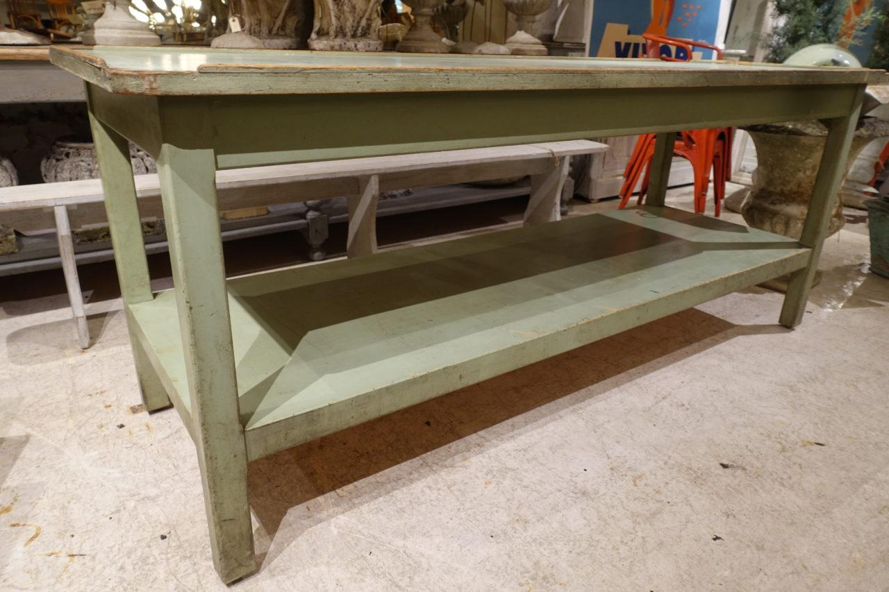 Planting Tables For Sale Gorgeous Mint Green Vintage French Long Planting Table