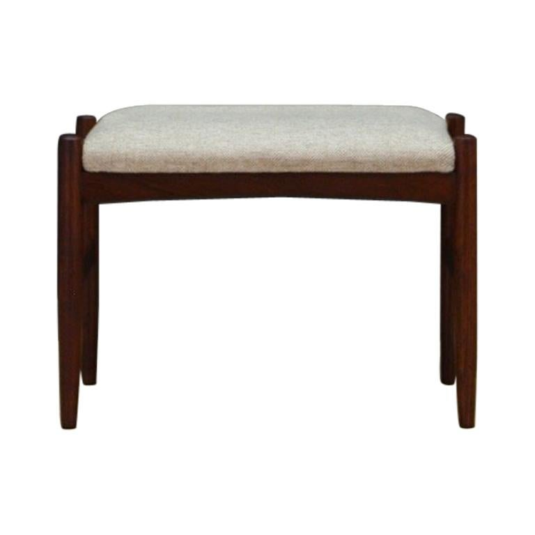 Hocker Vintage Hocker Footstool Danish Design Vintage