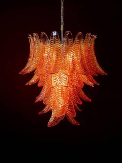 Small Of Blown Glass Chandelier
