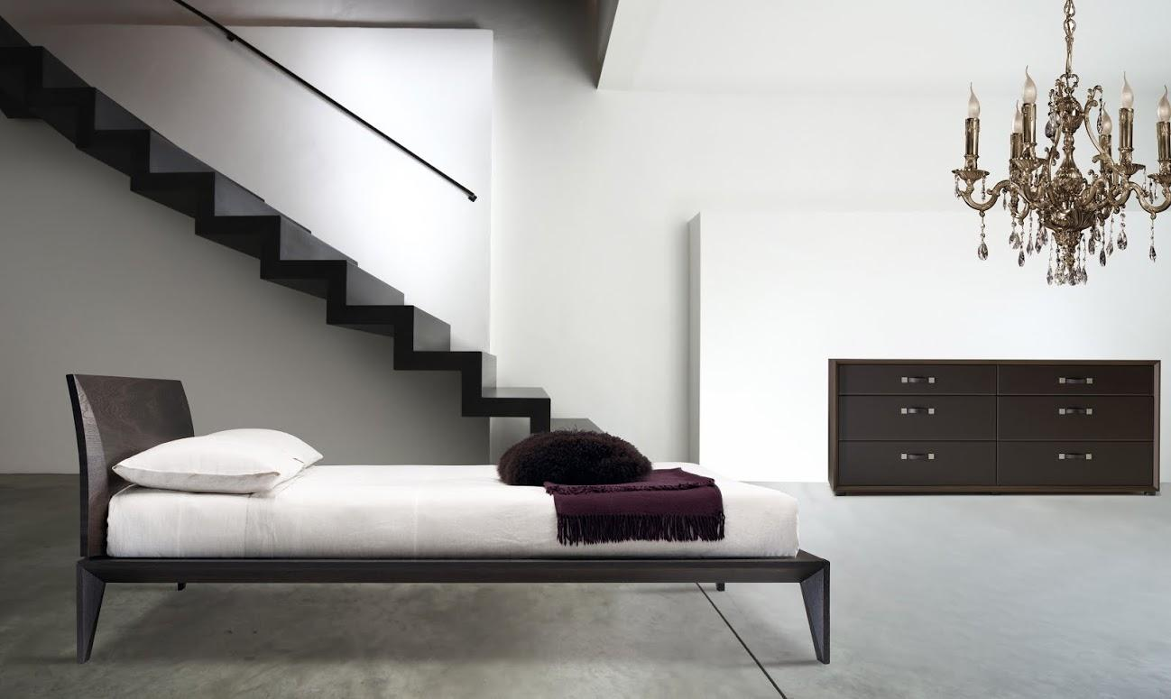 Modern Bed Frame Design Italian Modern Wood Bed Handmade And Designed In Italy Wood Or Leather Queen