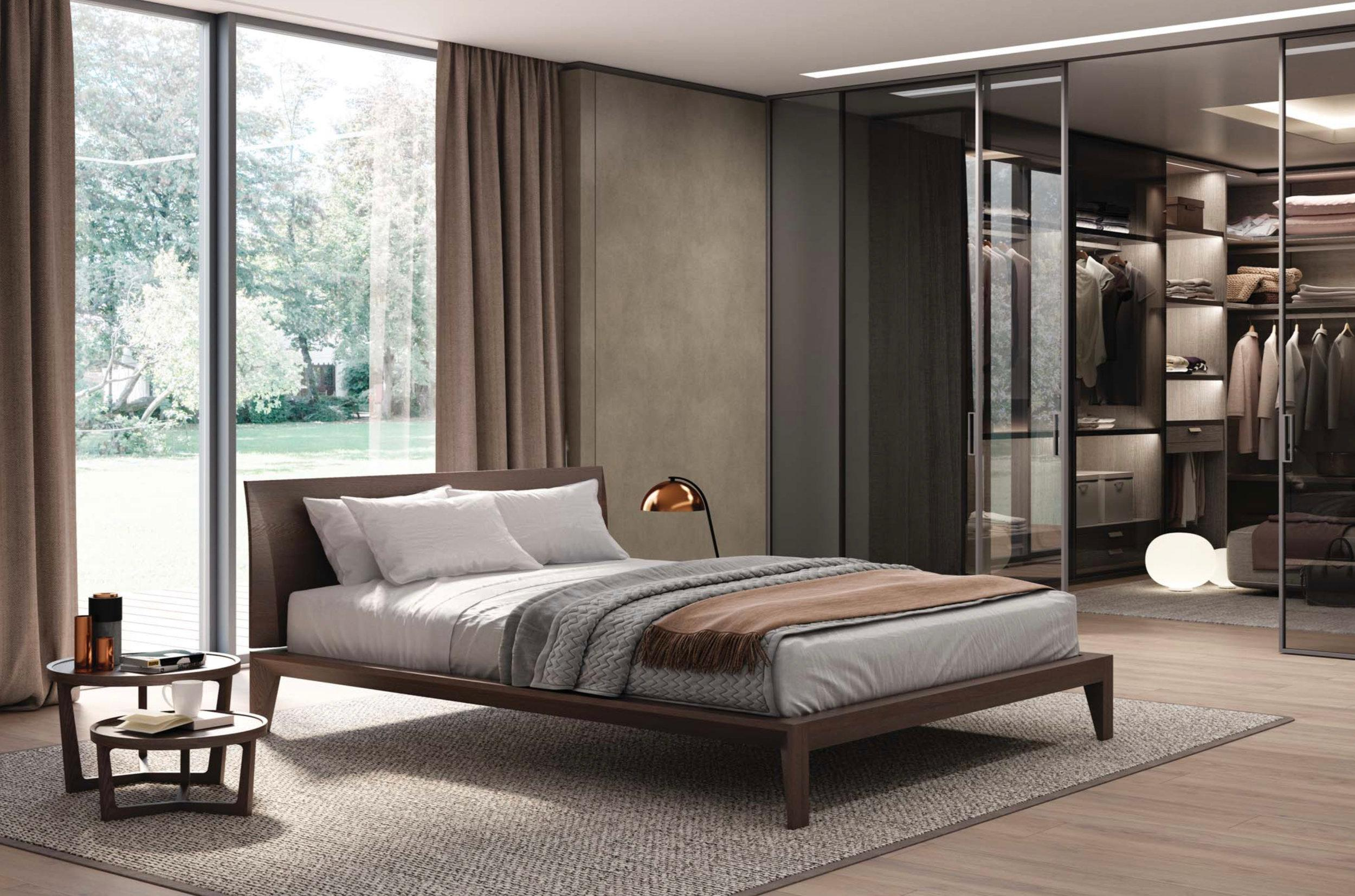 Italian Furniture Bedroom Italian Modern Wood Bed Handmade And Designed In Italy Wood Or Leather Queen