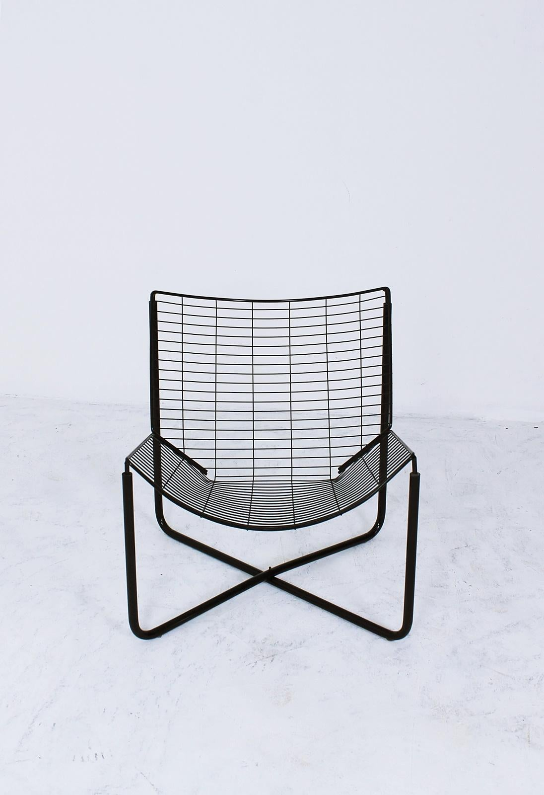 Ikea Black Chair Jarpen Wire Lounge Chair By Niels Gammelgaard For Ikea 1983