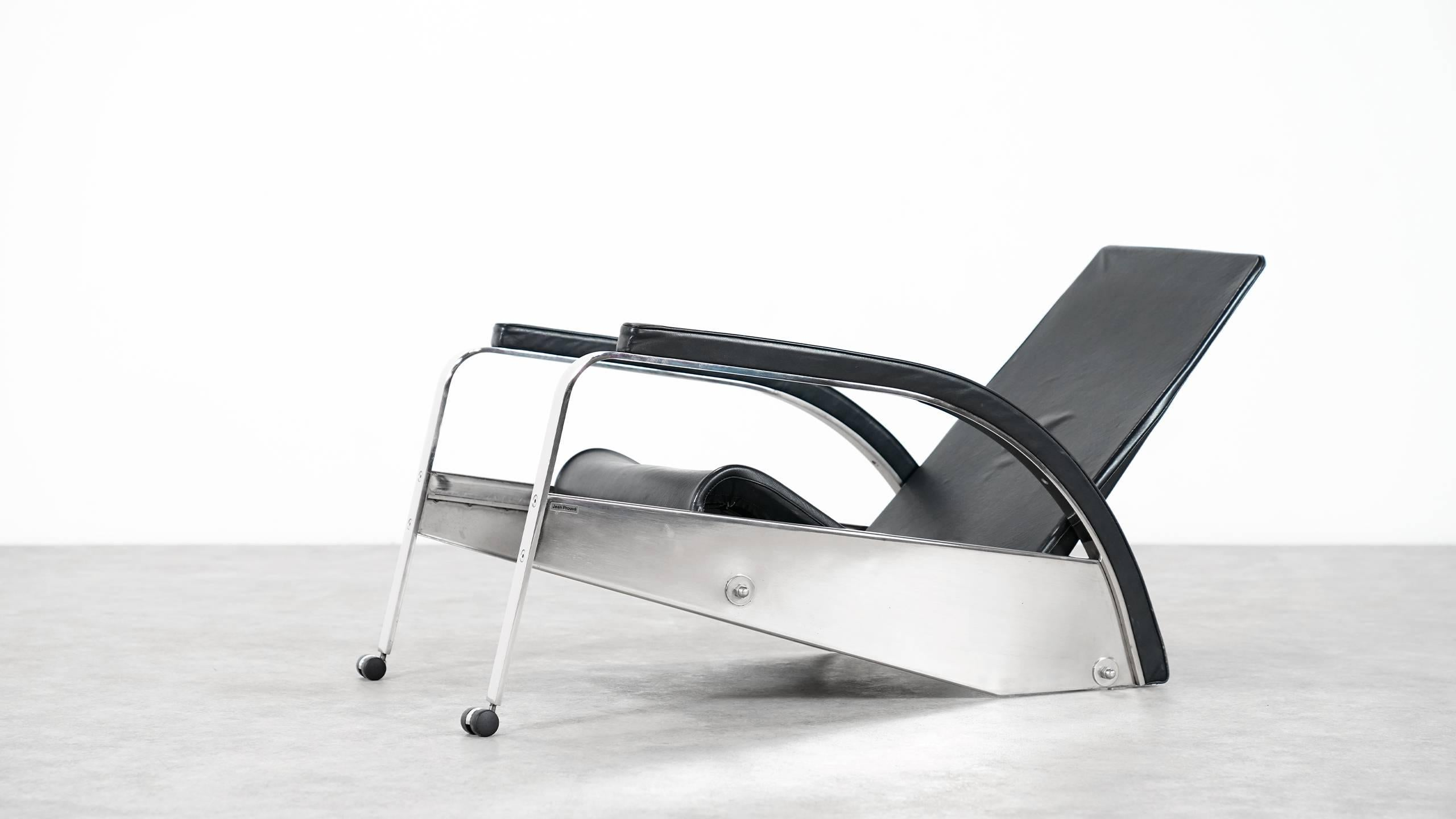 Grand Repos Sessel Jean Prouvé Grand Repos Lounge Chair For Tecta Germany
