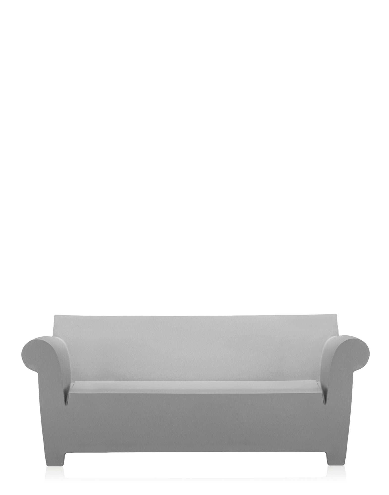 Kartell Sofa Kartell Bubble Club 2 Seat Sofa In Light Grey By Philippe Starck