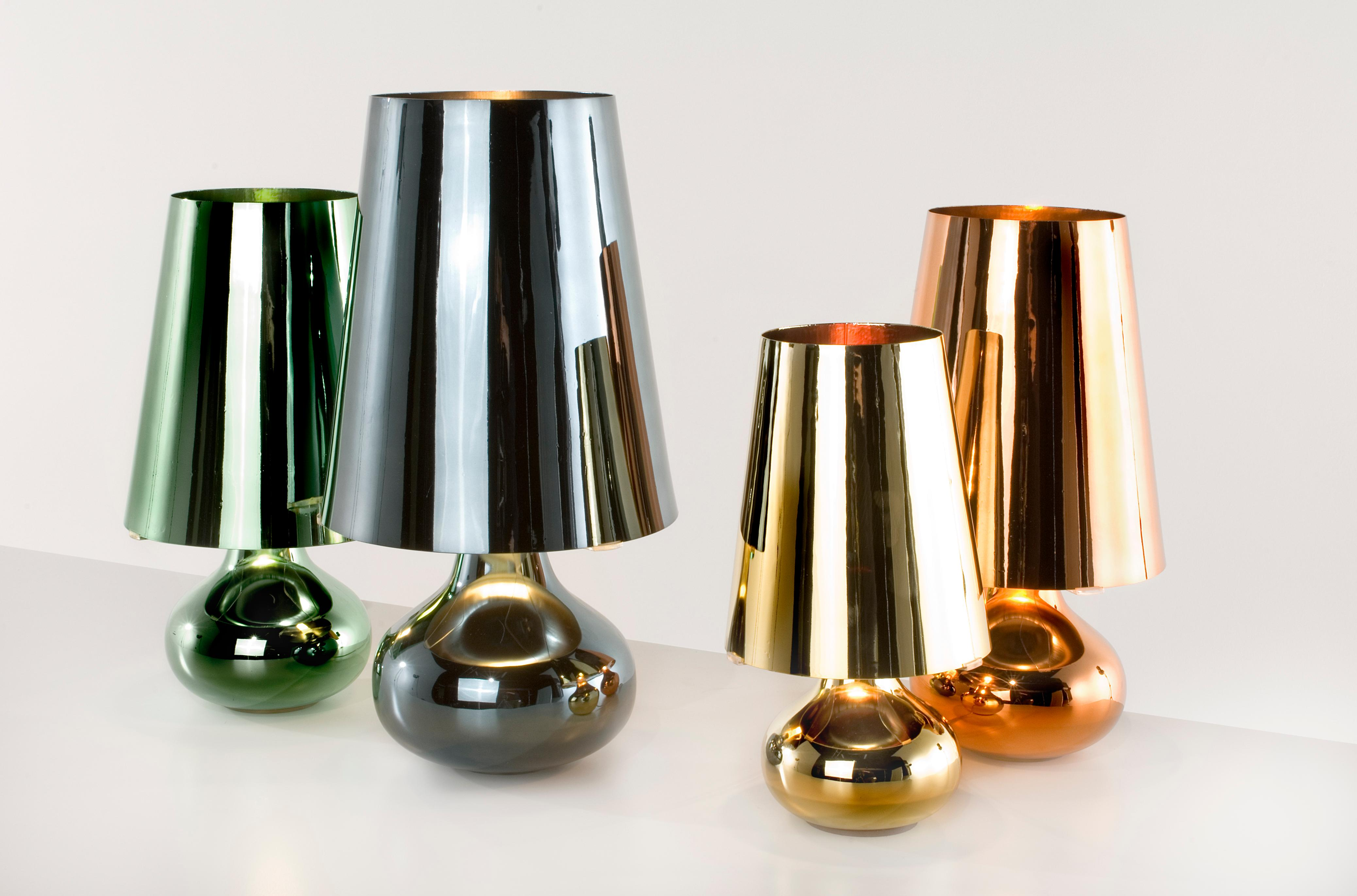 Kartell Bourgie Lamp Sale Kartell Cindy Lamp In Gun Metal By Ferruccio Laviani For