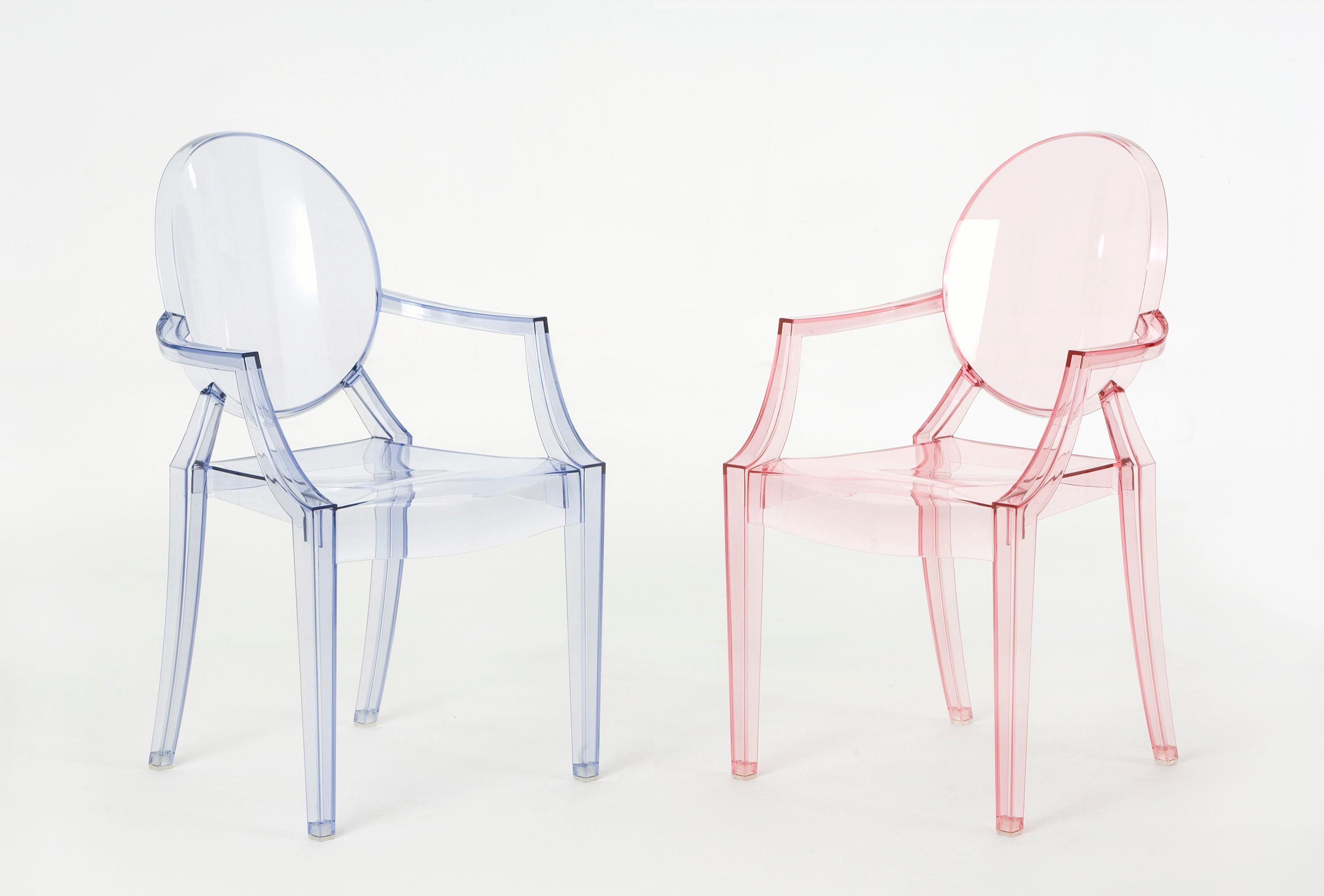 Philippe Starck Ghost Chair Kartell Lou Lou Ghost Chair In Crystal By Philippe Starck