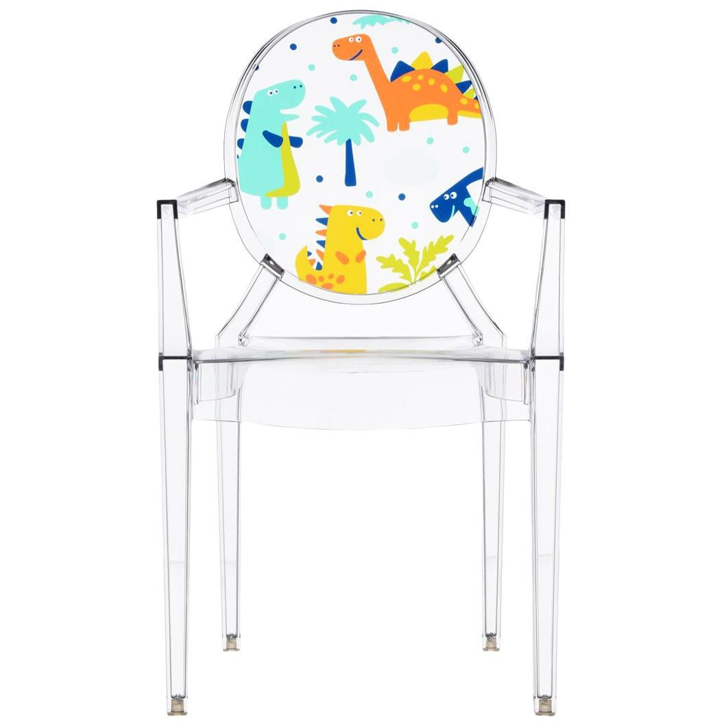 Philippe Starck Ghost Chair Kartell Lou Lou Ghost Chair In Crystal Dinosaur By Philippe Starck