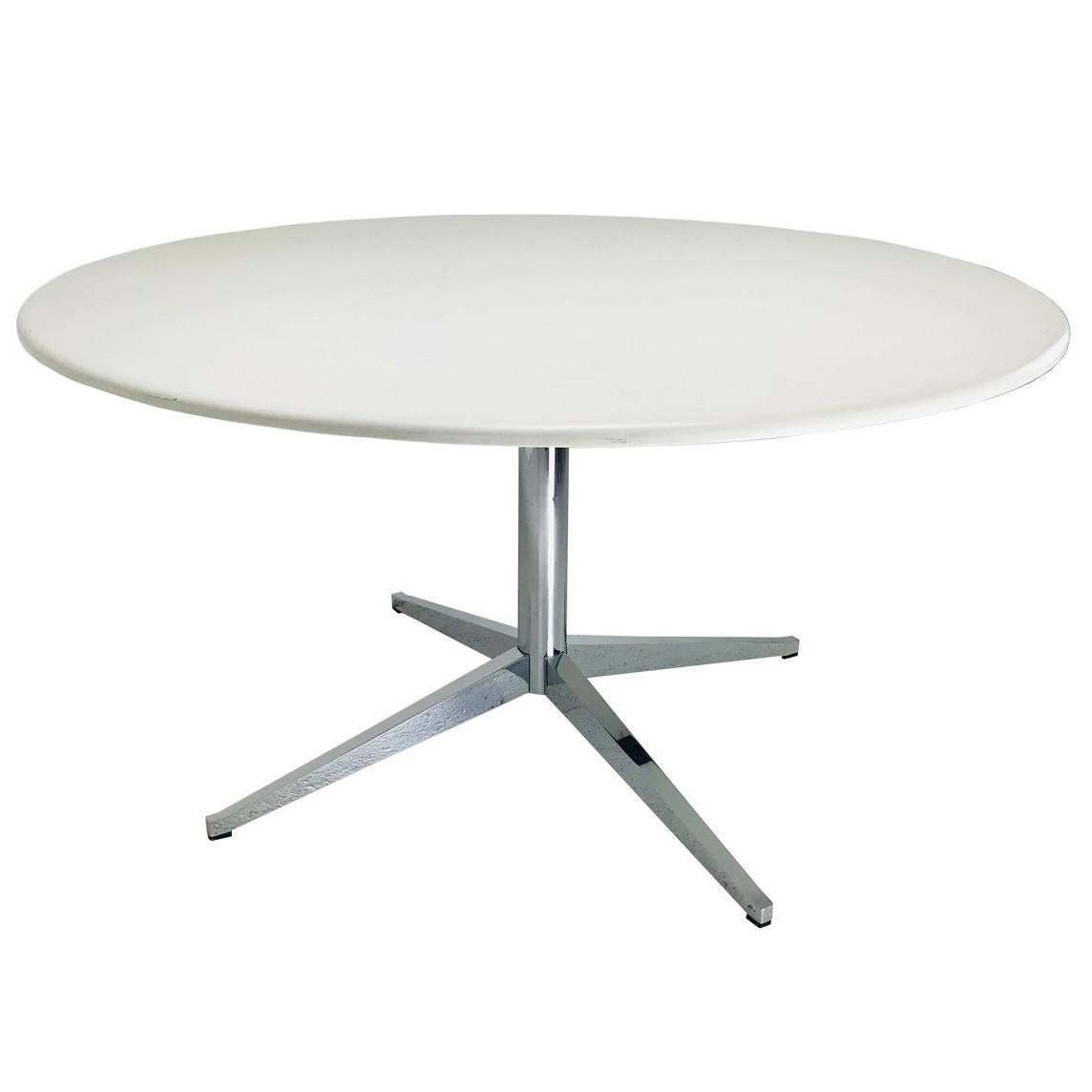 Knoll Table Knoll Starburst Table Base With Corian Table Top