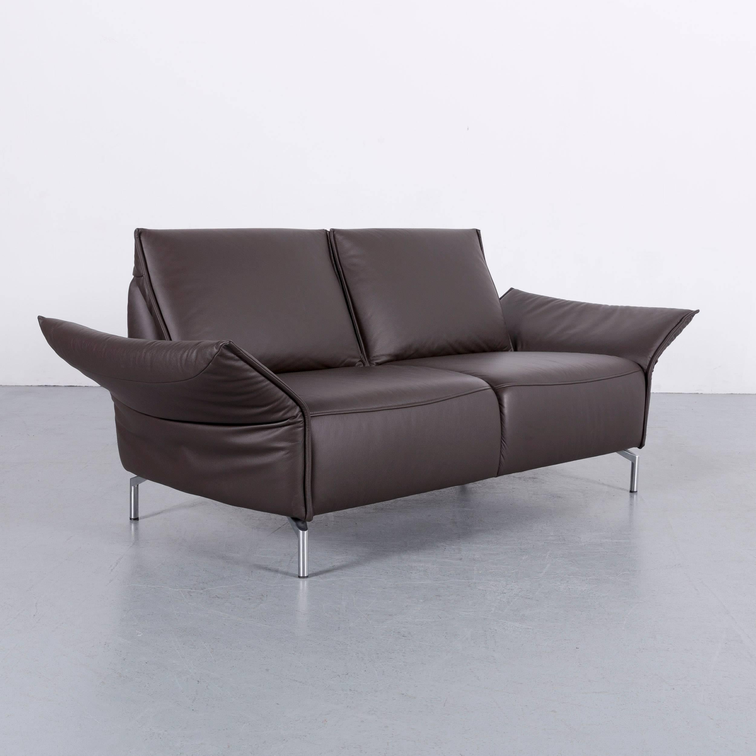 Koinor Vanda Koinor Vanda Leather Sofa Set Of Brown Three-seat, Two