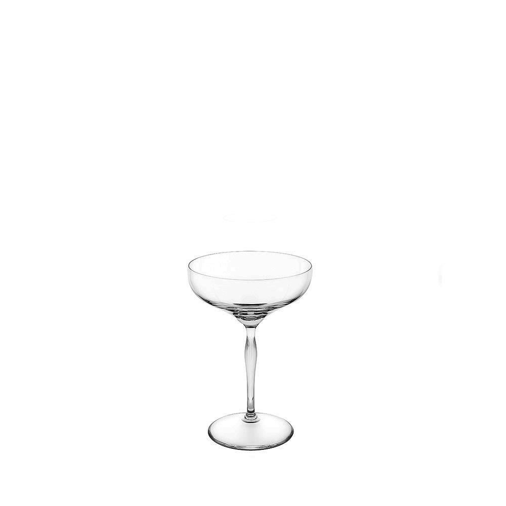 Champagne Coupe Lalique 100 Points Champagne Coupe In Clear Crystal