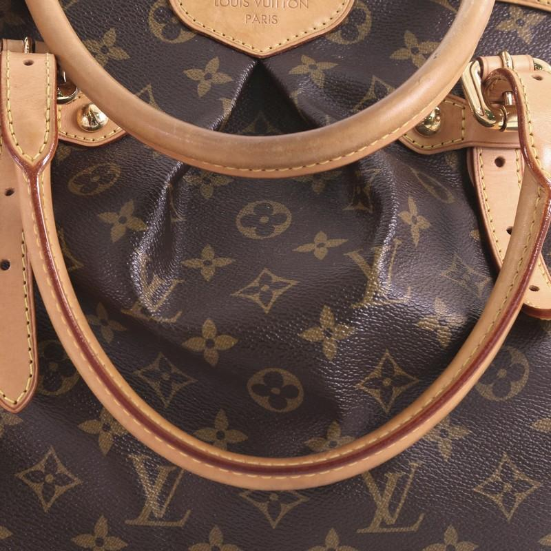 Louis Vuitton Tivoli Vs Palermo Louis Vuitton Tivoli Handbag Monogram Canvas Gm