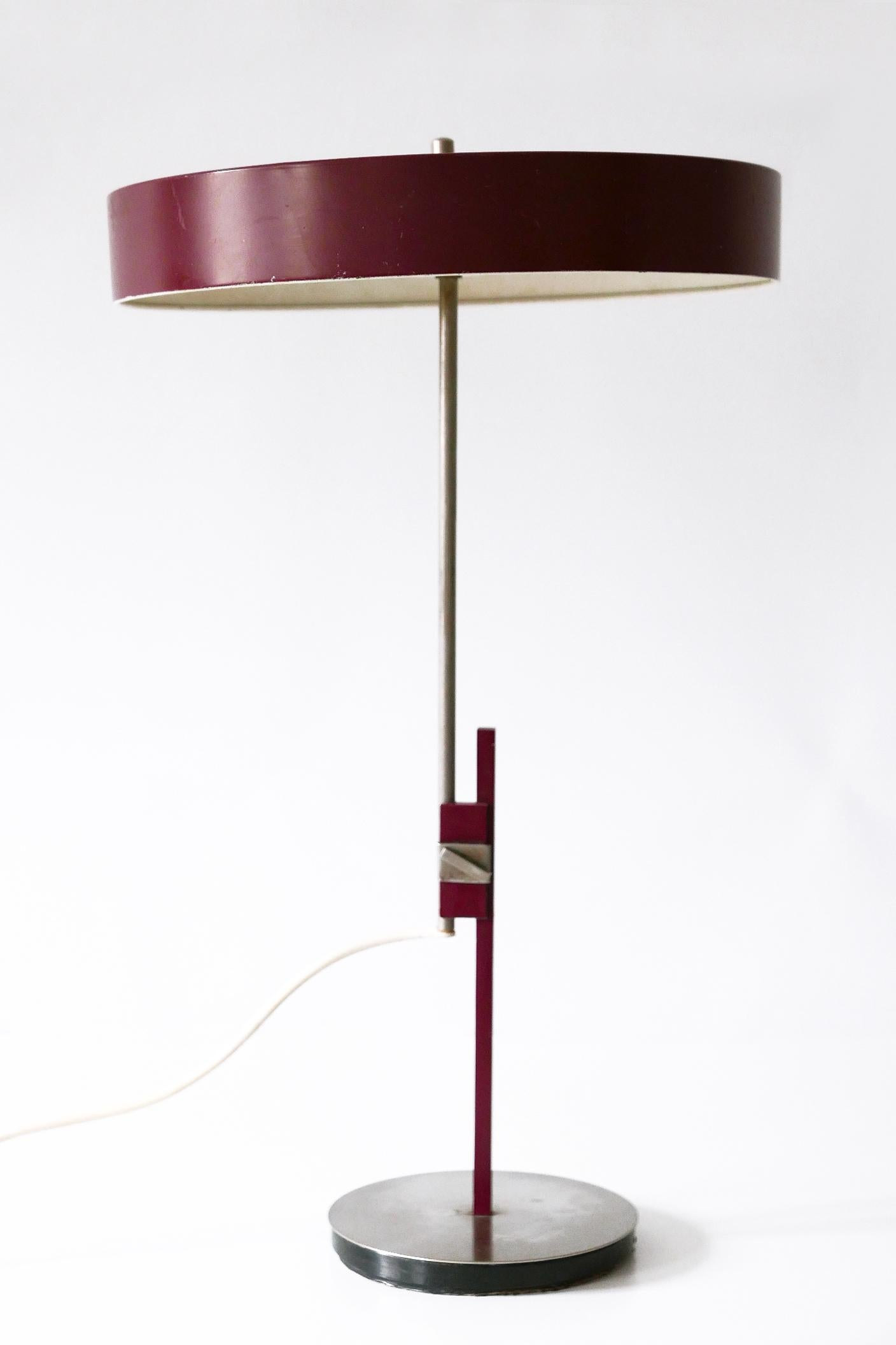 Leuchten Kaiser Luxury Mid-century Modern President Table Lamp By Kaiser Leuchten 1960s Germany For Sale At 1stdibs