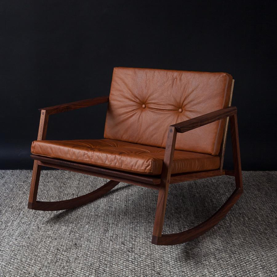 Mexican Rocking Chair Mecedora Dedo Mexican Contemporary Rocking Chair By Emiliano Molina For Cuchara