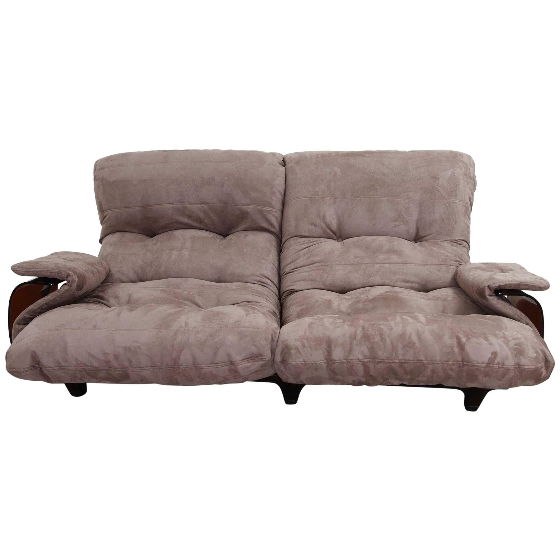Ligne Roset Sofa Michel Ducaroy Two Seat Sofa Marsala For Ligne Roset