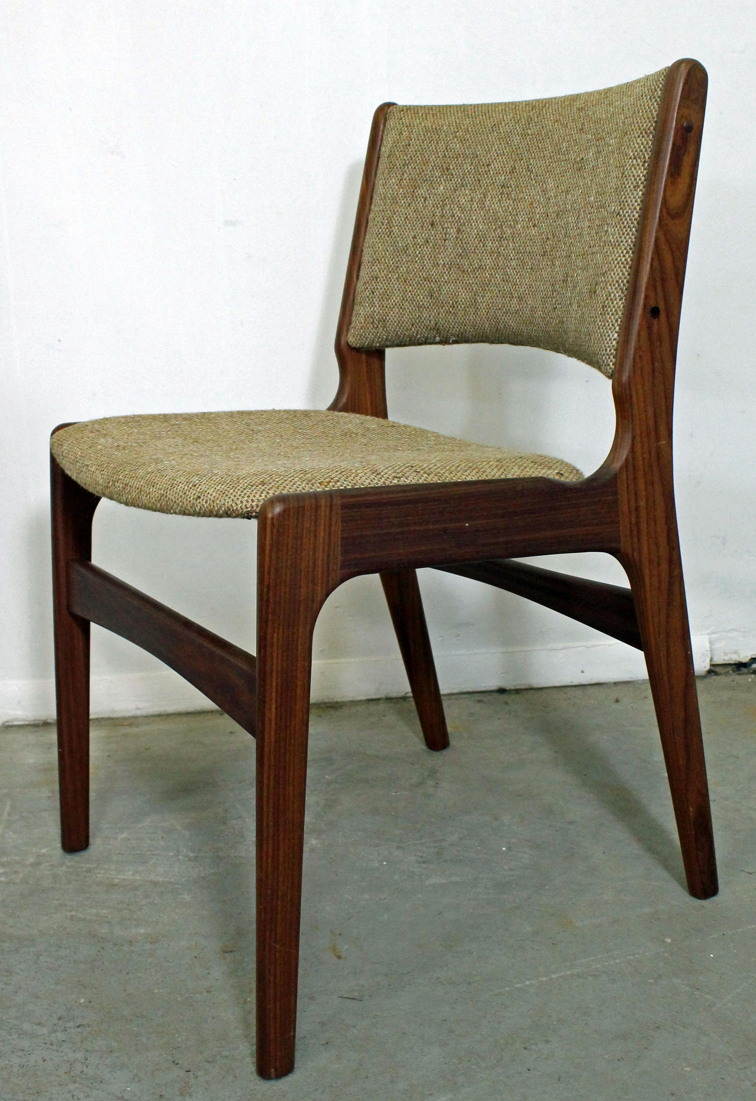 Danish Modern Dining Chairs For Sale Mid Century Danish Modern Henning Kjaernulf Teak Dining Chair