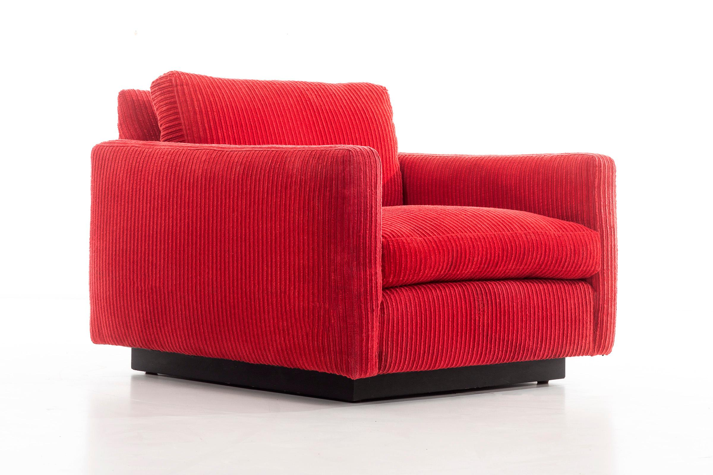 Milo Baughman Lounge Chair And Ottoman For Sale At 1stdibs
