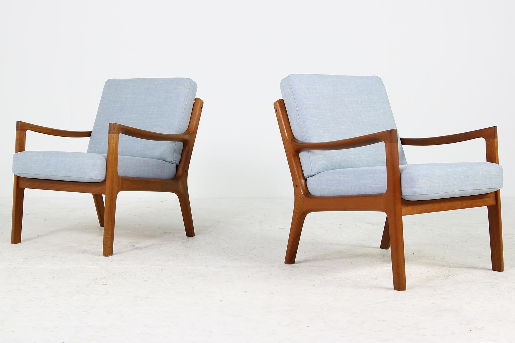 Ole Wanscher Sessel Pair Of Danish Modern 1960s Teak Lounge Easy Chairs By Ole Wanscher Denmark