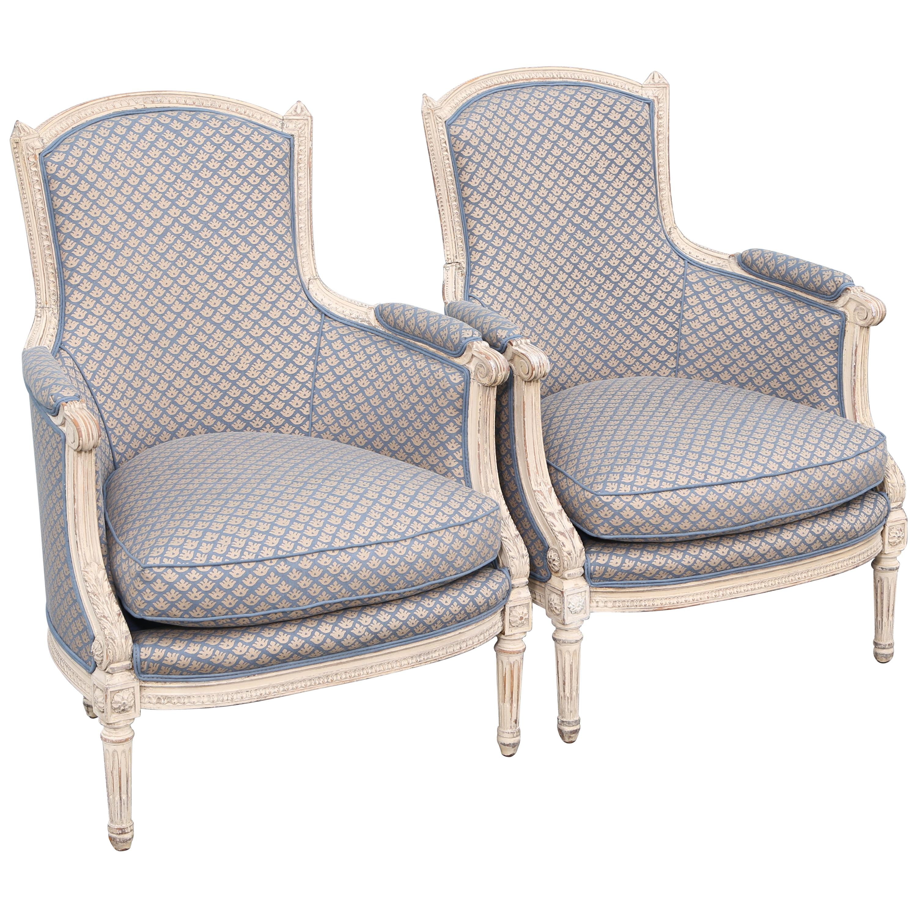Fauteuil Shabby Chic 18th Century And Earlier Bergere Chairs 83 For Sale At 1stdibs